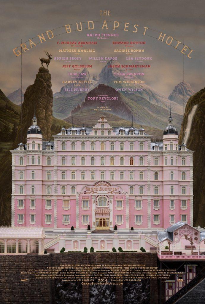 دانلود فیلم کمدی The Grand Budapest Hotel 2014 هتل بزرگ بوداپست