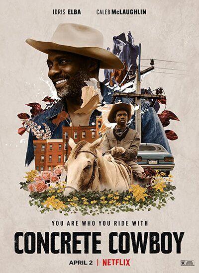 دانلود فیلم گاوچران واقعی Concrete Cowboy 2021 با زیرنویس فارسی