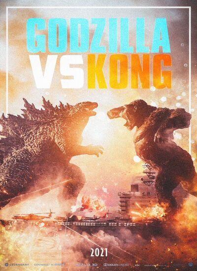 دانلود فیلم گودزیلا علیه کونگ دوبله فارسی Godzilla vs Kong 2021