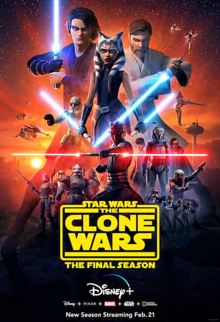 دانلود سریال Star Wars: The Clone Wars