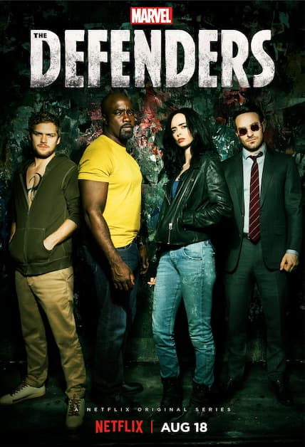 دانلود سریال The Defenders