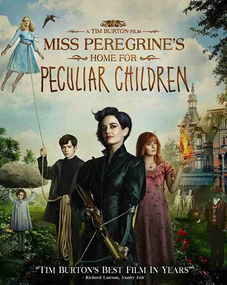 دانلود فیلم Miss Peregrines Home for Peculiar Children 2016 دوبله فارسی