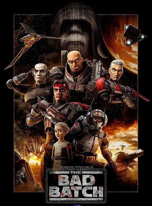 دانلود انیمیشن Star Wars: The Bad Batch 2021