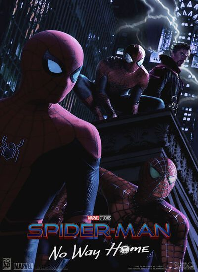 دانلود فیلم مرد عنکبوتی: راهی به خانه نیست Spider-Man: No Way Home 2021