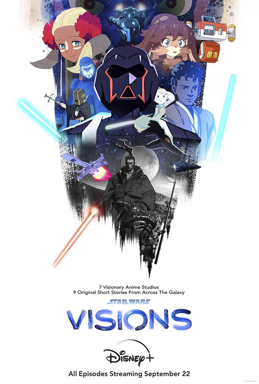 دانلود انیمه جنگ ستارگان: چشم اندازها Star Wars: Visions 2021